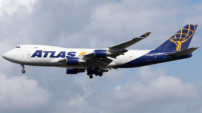 N412MC - Boeing 747-47UF(SCD) - Atlas Air