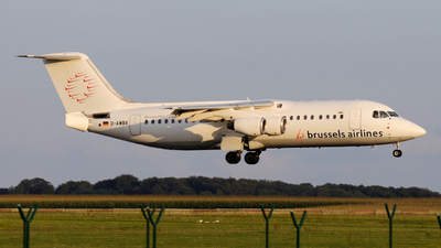D-AWBA - British Aerospace BAe 146-300 - Brussels Airlines