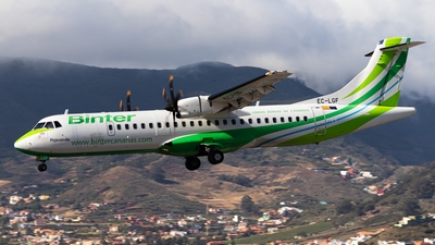 A picture of ECLGF - ATR 72500 - Binter Canarias - © Pablo Marín