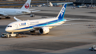 JA808A - Boeing 787-8 Dreamliner - All Nippon Airways (Air Japan)