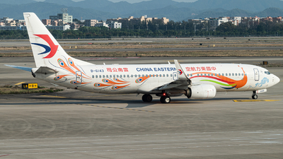 A picture of B6143 - Boeing 73789P - China Eastern Airlines - © LeoRay