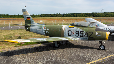 D-9542 - Canadair CL-13B-6 Sabre - Germany - Air Force