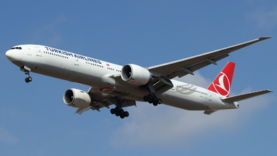 A picture of TCLJD - Boeing 7773F2(ER) - Turkish Airlines - © ikeharel