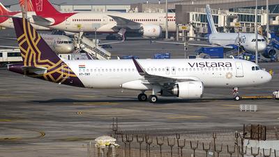 A picture of VTTNY - Airbus A320251N - Vistara - © Sanskar nawani