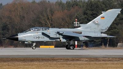43-45 - Panavia Tornado IDS - Germany - Air Force