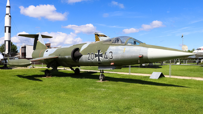 20-43 - Lockheed F-104G Starfighter - Germany - Air Force