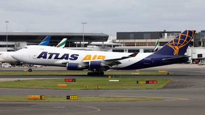 A picture of N408MC - Boeing 74747UF - Atlas Air - © Morris Biondi