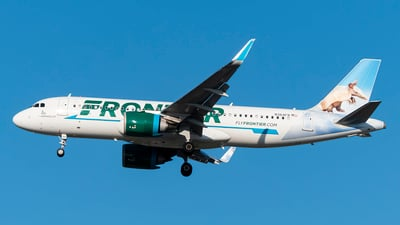 A picture of N364FR - Airbus A320251N - Frontier Airlines - © ZackCohen