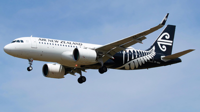 ZK-NHA - Airbus A320-271N - Air New Zealand