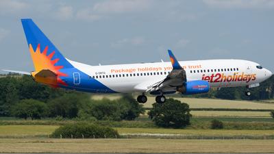 A picture of GDRTD - Boeing 737808 - Jet2 - © Ian McGregor