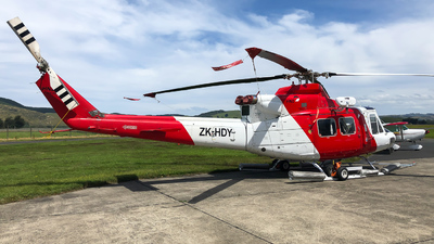 ZK-HDY - Bell 412EP - HNZ Group
