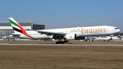 A picture of A6EGX - Boeing 77731H(ER) - Emirates - © Eddie Heisterkamp