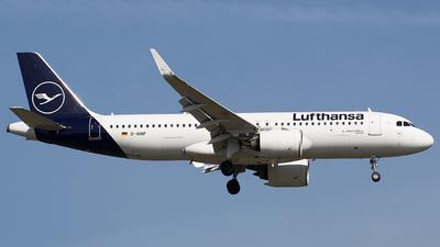 A picture of DAINP - Airbus A320271N - Lufthansa - © BennyH
