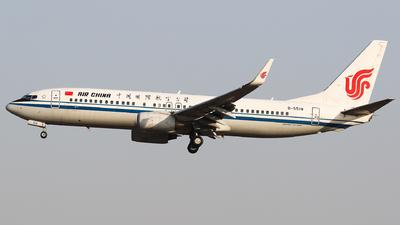B-5518 - Boeing 737-89L - Air China