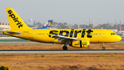 N502NK - Airbus A319-132 - Spirit Airlines