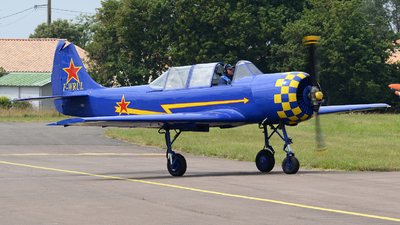 F-WRUL - Yakovlev Yak-52 - Private