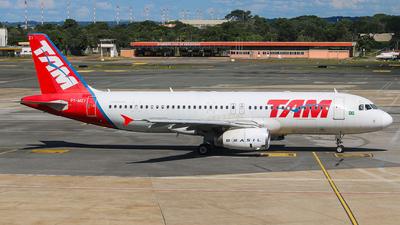 PT-MZI - Airbus A320-232 - TAM Linhas Aéreas