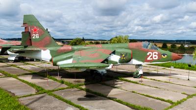 26 - Sukhoi Su-25 Frogfoot - Belarus - Air Force