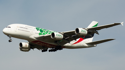 A picture of A6EEZ - Airbus A380861 - Emirates - © Julian Maas