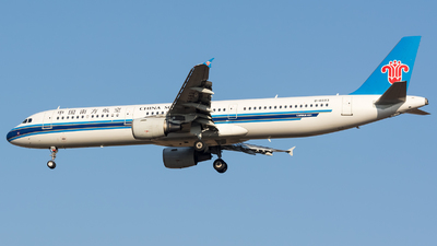 A picture of B6683 - Airbus A321211 - China Southern Airlines - © BobH