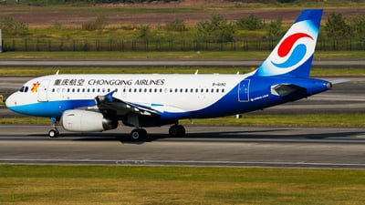 B-6190 - Airbus A319-132 - Chongqing Airlines