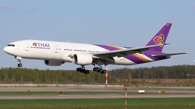 HS-TJT - Boeing 777-2D7(ER) - Thai Airways International