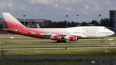 EI-XLG - Boeing 747-446 - Rossiya Airlines