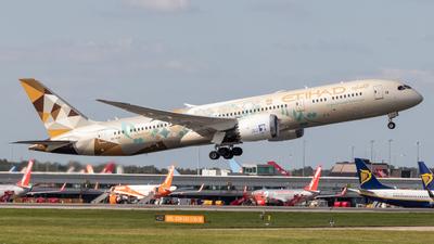 A6-BLN - Boeing 787-9 Dreamliner - Etihad Airways