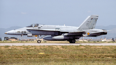 C.15-42 - McDonnell Douglas EF-18A+ Hornet - Spain - Air Force