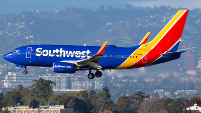 A picture of N212WN - Boeing 7377H4 - Southwest Airlines - © AirPilot_Photography