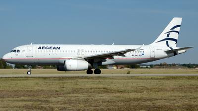 A picture of SXDGJ - Airbus A320232 - Aegean Airlines - © Donato Bolelli