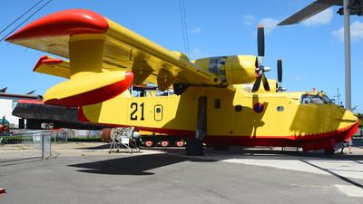 F-ZBAR - Canadair CL-215 - France - Sécurité Civile