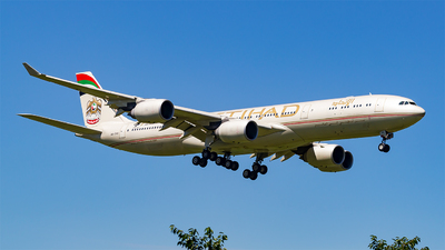 A6-EHB - Airbus A340-541 - Etihad Airways