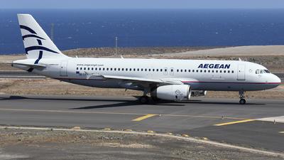 A picture of SXDVT - Airbus A320232 - Aegean Airlines - © Manu Aldana