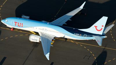 D-AMAB - Boeing 737-8 MAX - TUI