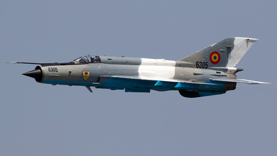 6305 - Mikoyan-Gurevich MiG-21MF Lancer C - Romania - Air Force