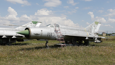 1113 - Mikoyan-Gurevich MiG-21MA Fishbed J - Slovakia - Air Force