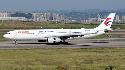 A picture of B300P - Airbus A330343 - China Eastern Airlines - © BCG554