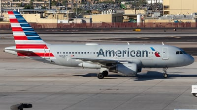 N753US - Airbus A319-112 - American Airlines
