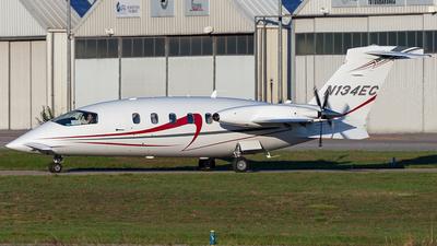N134EC - Piaggio P-180 Avanti - Private