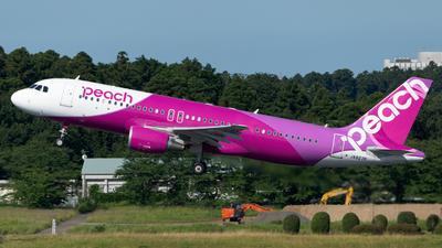 JA827P - Airbus A320-214 - Peach Aviation