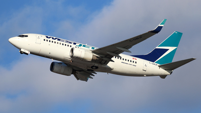 A picture of CGWJF - Boeing 7377CT - WestJet - © Michael Durning