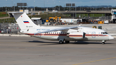 A picture of RA61717 - Antonov An148100EM - MCHS Rossii - © Tim Donell