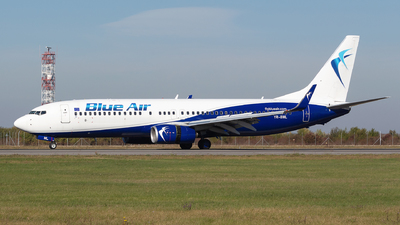 A picture of YRBML - Boeing 73782R - Blue Air - © Robert Dumitrescu