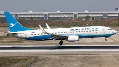 A picture of B5308 - Boeing 73786N - Xiamen Air - © Sweet Potato