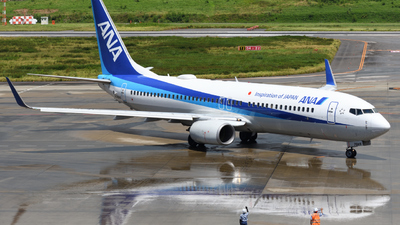 A picture of JA76AN - Boeing 737881 - All Nippon Airways - © HIroki Manabe