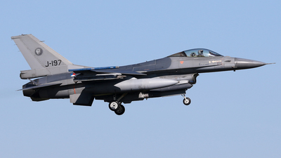 J-197 - General Dynamics F-16A Fighting Falcon - Netherlands - Royal Air Force
