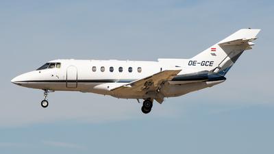 OE-GCE - Raytheon Hawker 800XP - Goldeck Flug