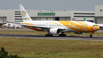 HS-XBE - Boeing 777-212(ER) - NokScoot