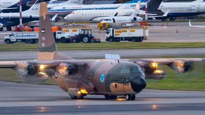 345 - Lockheed C-130H Hercules - Jordan - Air Force